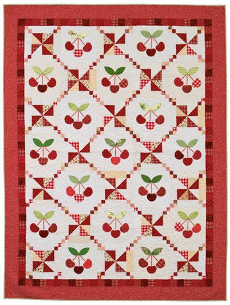 Cherry Quilt Pattern martingale cherry cobbler quilt epattern