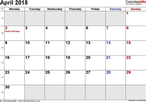 Calendar Docs Template 2018 Calendar Template 2018 Calendar New Year