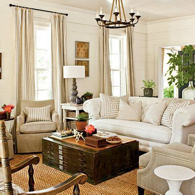 Southern Living Living Rooms by Living Room Farmhouse Restoration Idea House Tour
