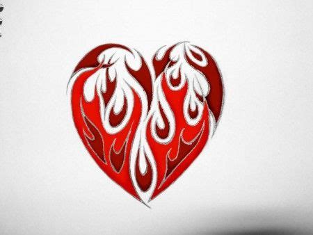 hearts of fire tattoo 7 best and images on tatoos