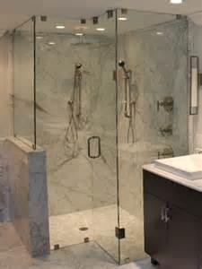 frameless shower door enclosures and steam units