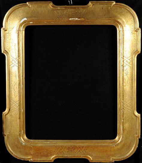 cornice foto cornice a vassoio in legno dorato xix secolo