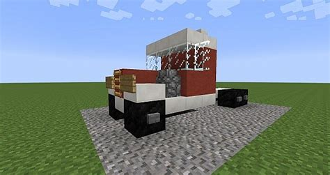 minecraft semi truck trucks collection trucks trailers minecraft