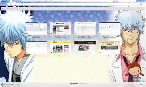 theme google chrome gintama gintama fans chrome theme themebeta