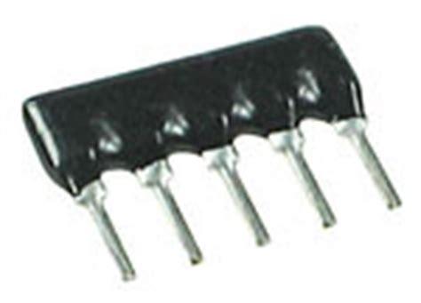 resistor diode network resistor network