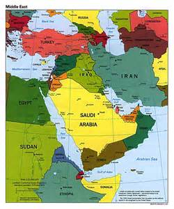 east map of cities large political map of the middle east with major cities