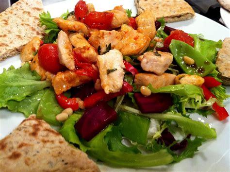crossfire elite personal training hot chicken salad