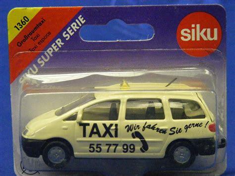 Siku Taxi buffalo road imports taxi car sedan diecast model siku