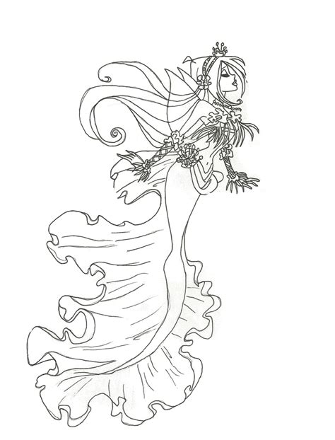 mermaids are salty b ches a coloring book for juvenile adults books how to draw flora mermaid coloring pages