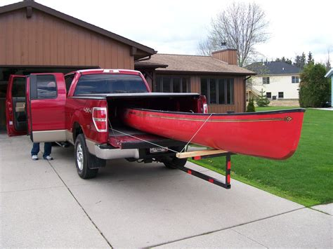 truck bed kayak rack 12ft boards in a 6ft truck bed diy truck rack general diy discussions diy
