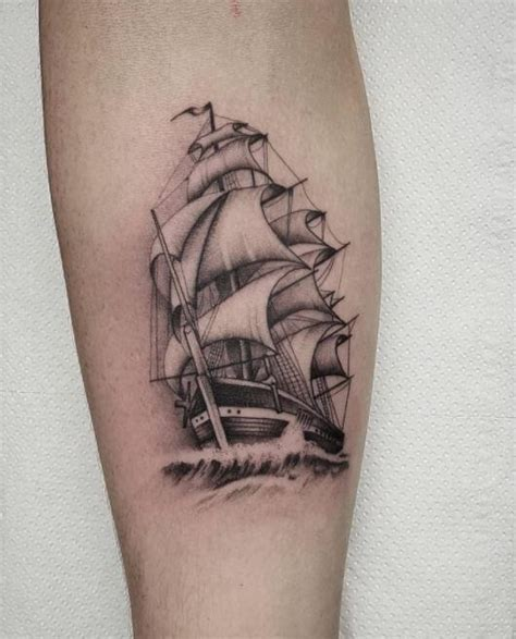 small ship tattoos 50 best arm tattoos for 2018 tattoosboygirl