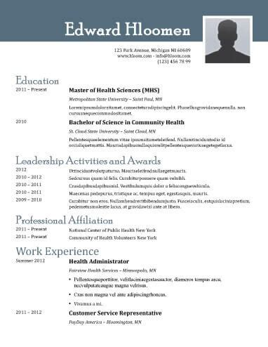 Open Office Resume Template by 8 Free Openoffice Resume Templates Ott Format