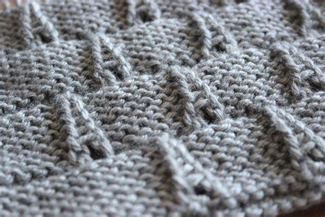 knitting pattern visualizer how to knit the eiffel tower eyelet stitch pattern