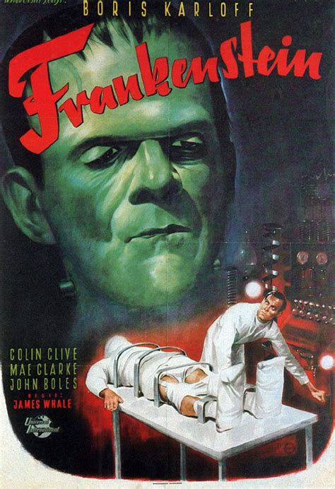 Poster Classic Vintage Frankenstein frankenstein images poster hd wallpaper and background photos 19751770