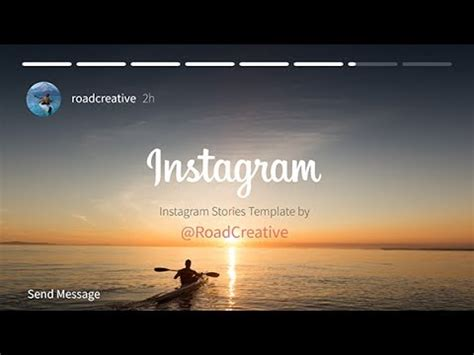 Instagram Story After Effects Template Youtube Instagram Story Template After Effects