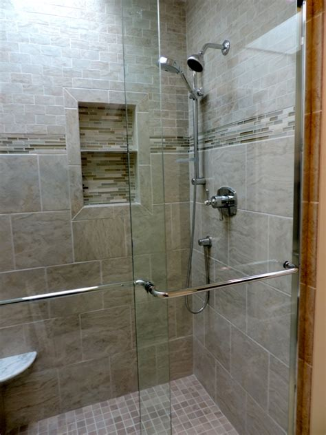 Standup Showers Item Options Homesfeed Standing Shower Bathroom Design