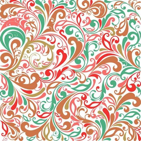 floral pattern background free vector floral design background vector illustration free vector
