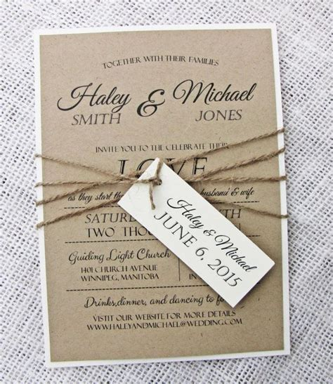 diy handmade wedding invitations oxsvitation