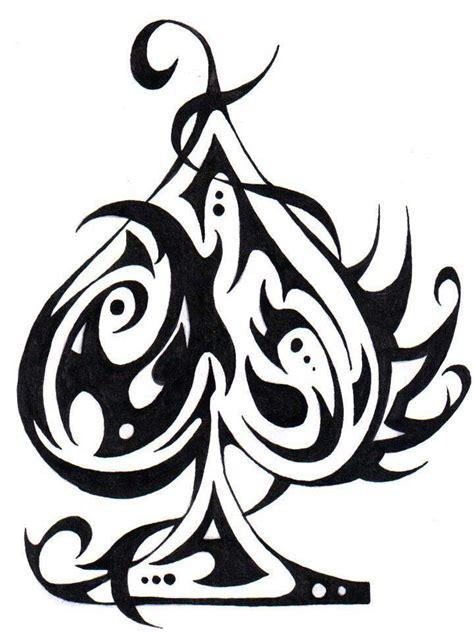 modele tatouage pique tribal