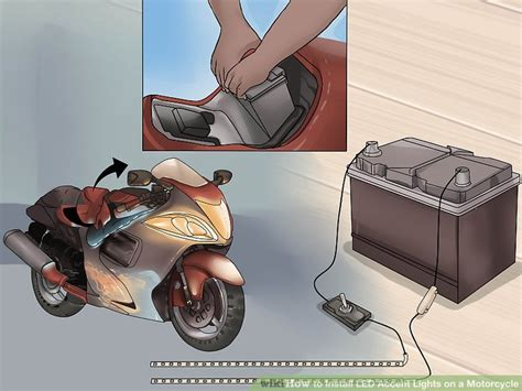 how to install led lights how to install led accent lights on a motorcycle 6 steps