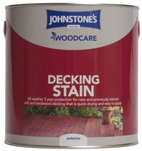 johnstone s woodcare decking stain 2 5l