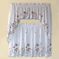 Kitchen And Bathroom Curtains Buy Abby Kitchen Window Swag Pair In Wedgwood From Bed Bath Beyond
