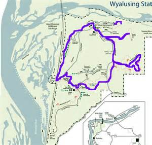 Wyalusing State Park Map by Come Along With Chong Wyalusing State Park Wi