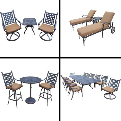 Outdoor Patio Belmont Wicker Set 2. bar table pick up