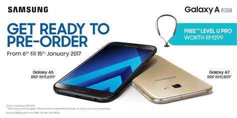 Handphone Samsung A7 Di Malaysia pre order for the samsung galaxy a5 and a7 2017 starts