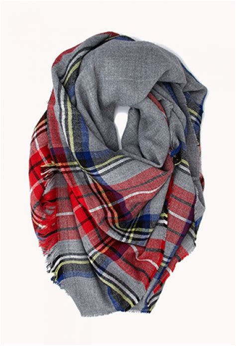 11 must plaid scarves theglitterguide