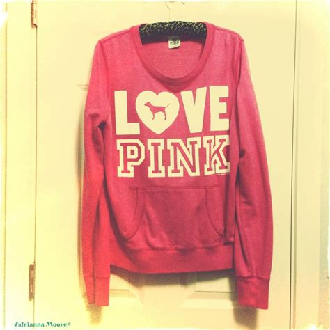 victoriau0027s secret love pink sweaters oasis amor fashion