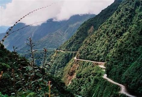 Drive one of the Most Dangerous Roads in the World!   My
