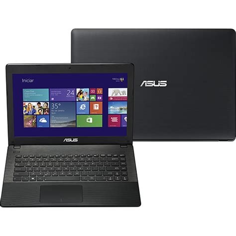 Laptop Asus X451ca Vx127d I3 notebook asus x451ca bral vx100h intel i3 2gb 320gb tela led 14 quot windows 8 preto