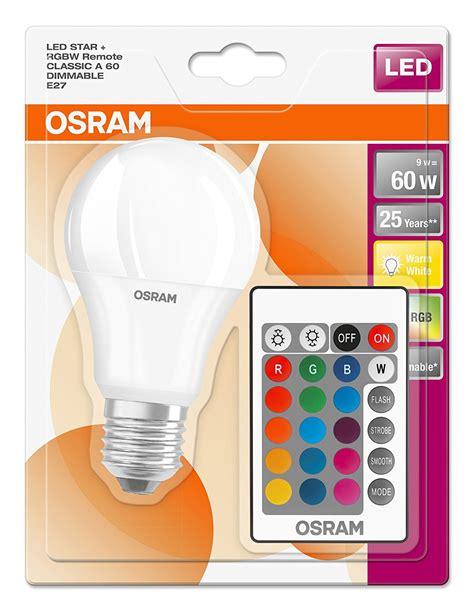 Lu Led 10w Rgb Remote osram 10w led gls e27 rgb with remote lshoponline