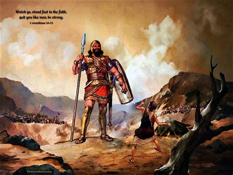 images of david and goliath wallpapers david and goliath theswordbearer