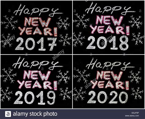 new year in 2019 happy new year 2017 2018 2019 2020 writing with