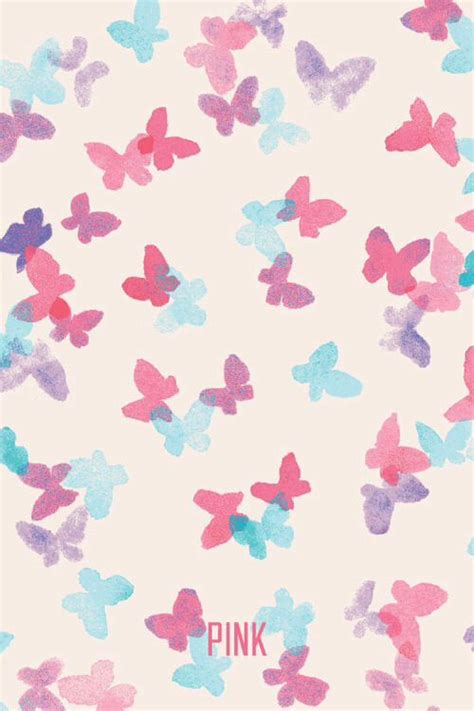 wallpaper for iphone we heart it mixerlittlegirl butterfly pink vs wallpaper on we heart