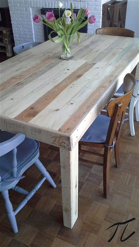 Wood Pallet Dining Table Creative Mind Home Of Ideas Rr Tie Pinterest Pallet Dining Tables Pallet Furniture And