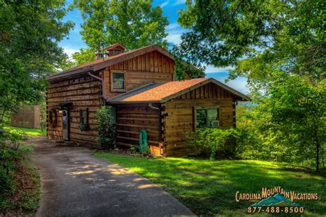 s smoky mountain log cabin vacation rental