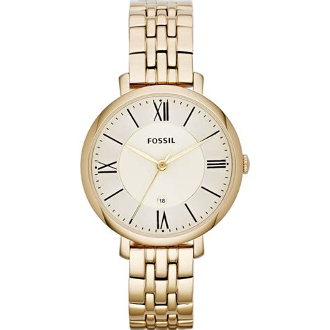 Fossil Jacquilene Gold es3434 jacqueline fossil watches2u