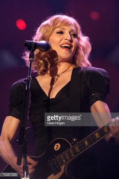 Madonnas Gorgeous Louboutins At Live Earth Uk by Live Earth Show Getty Images