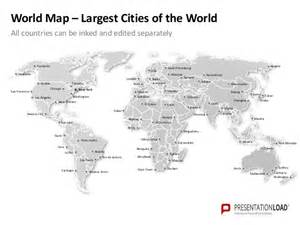 World Map Template For Powerpoint by Worldmap Ppt Slide Template