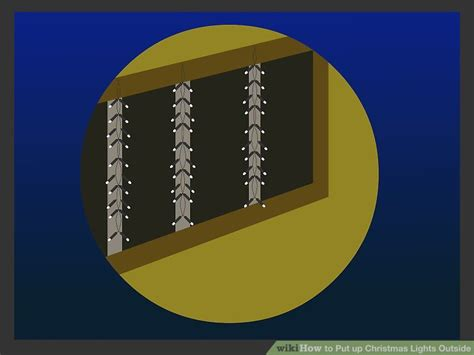 how to put up christmas lights outside 13 steps with