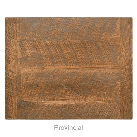 54 quot square distressed wood table top bar
