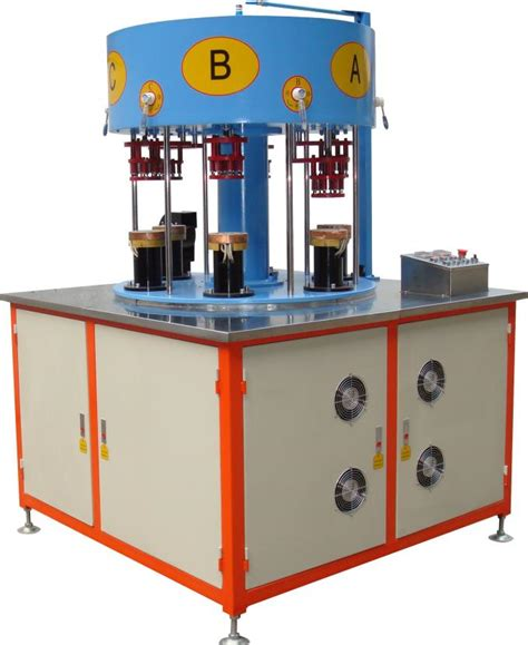 induction heating apparatus 80kw braze welding induction heat treatment equipment with six stations