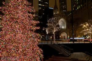michigan avenue lights lights along michigan avenue in downtown chicago
