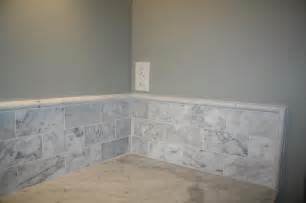 carrara marble backsplash tiles granite vanity carrara marble subway tile backsplash granite edging and tile trim