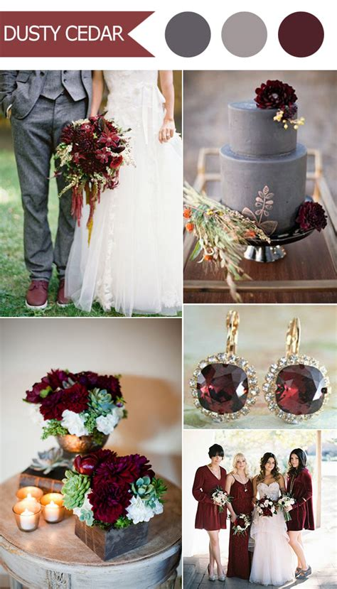 fall color schemes top 10 fall wedding color ideas for 2016 released by