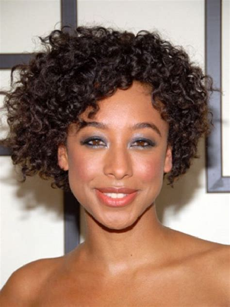 short natural curly hairstyles for black women hair 2013