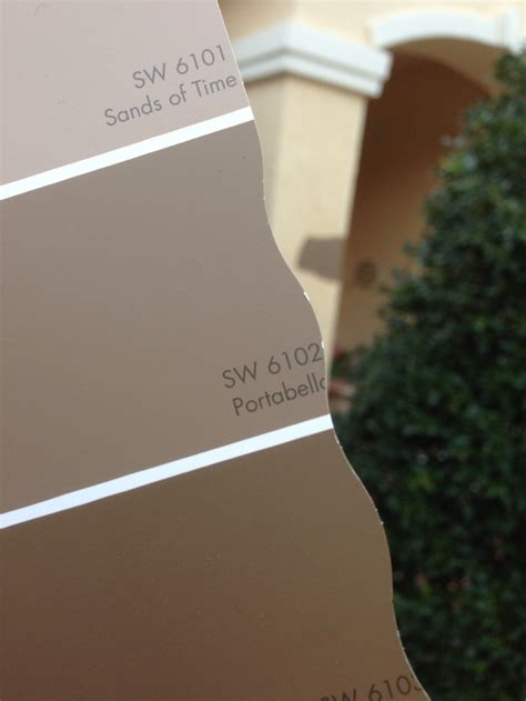 our home and the new sherwin williams color we chose to paint it sw 6102 portabello with a